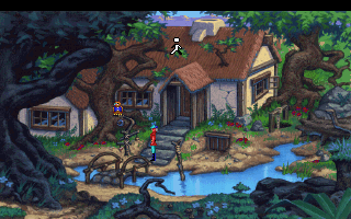King's Quest 5 - Crispin's house